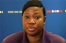 Click for Welcome Video by Fatou Bensouda, Prosecutor, International Criminal Court