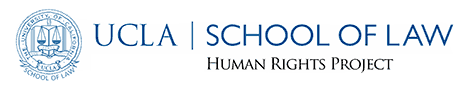 Logo for UCLA School of Law: Human Rights Project