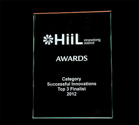The HiiL Innovating Justice Award, 2012.